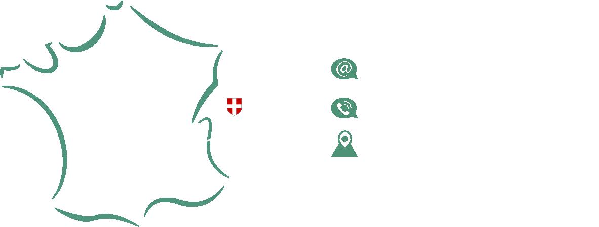 carte de la France montrant où se trouve le siège social de Novacteur