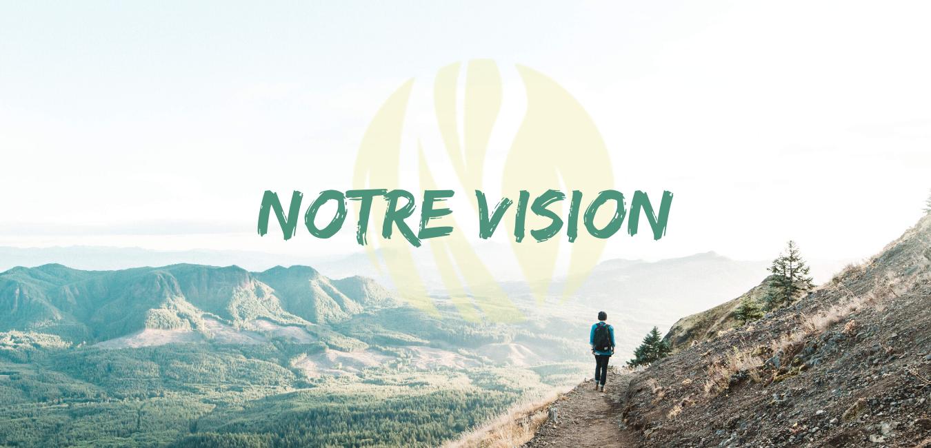 Notre vision avec logo jaune