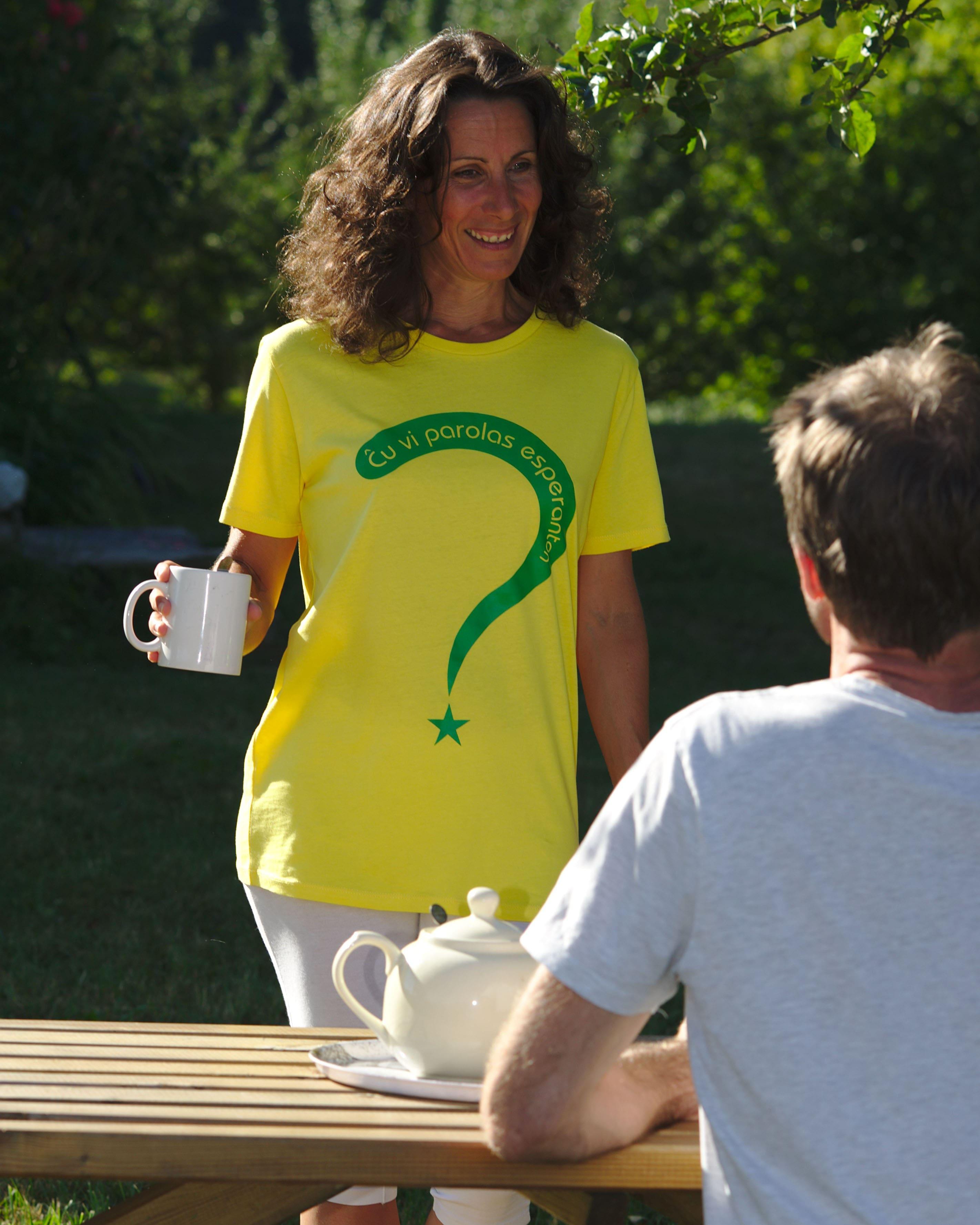 T-shirt Espéranto ?
