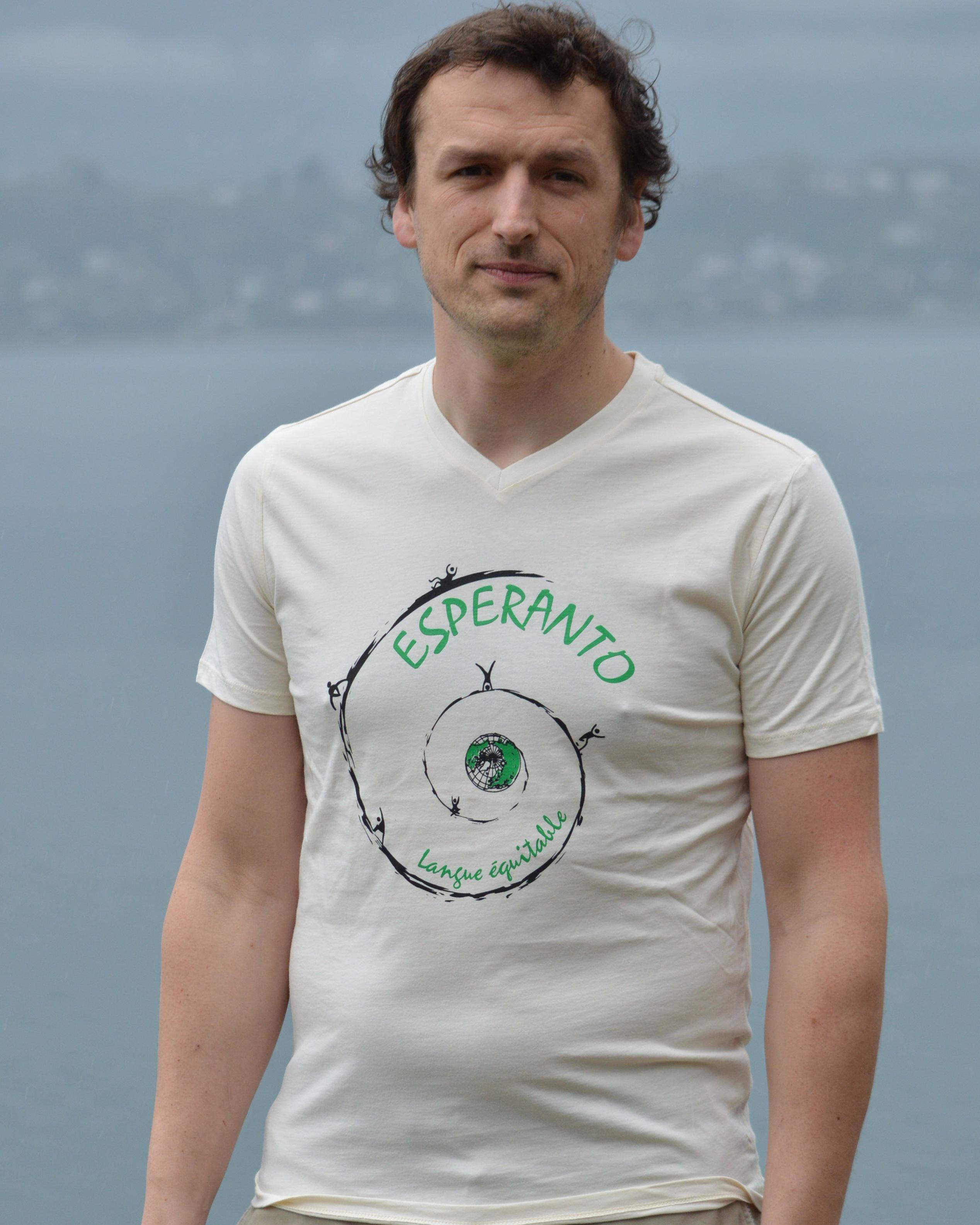 T-shirt esperanto langue équitable