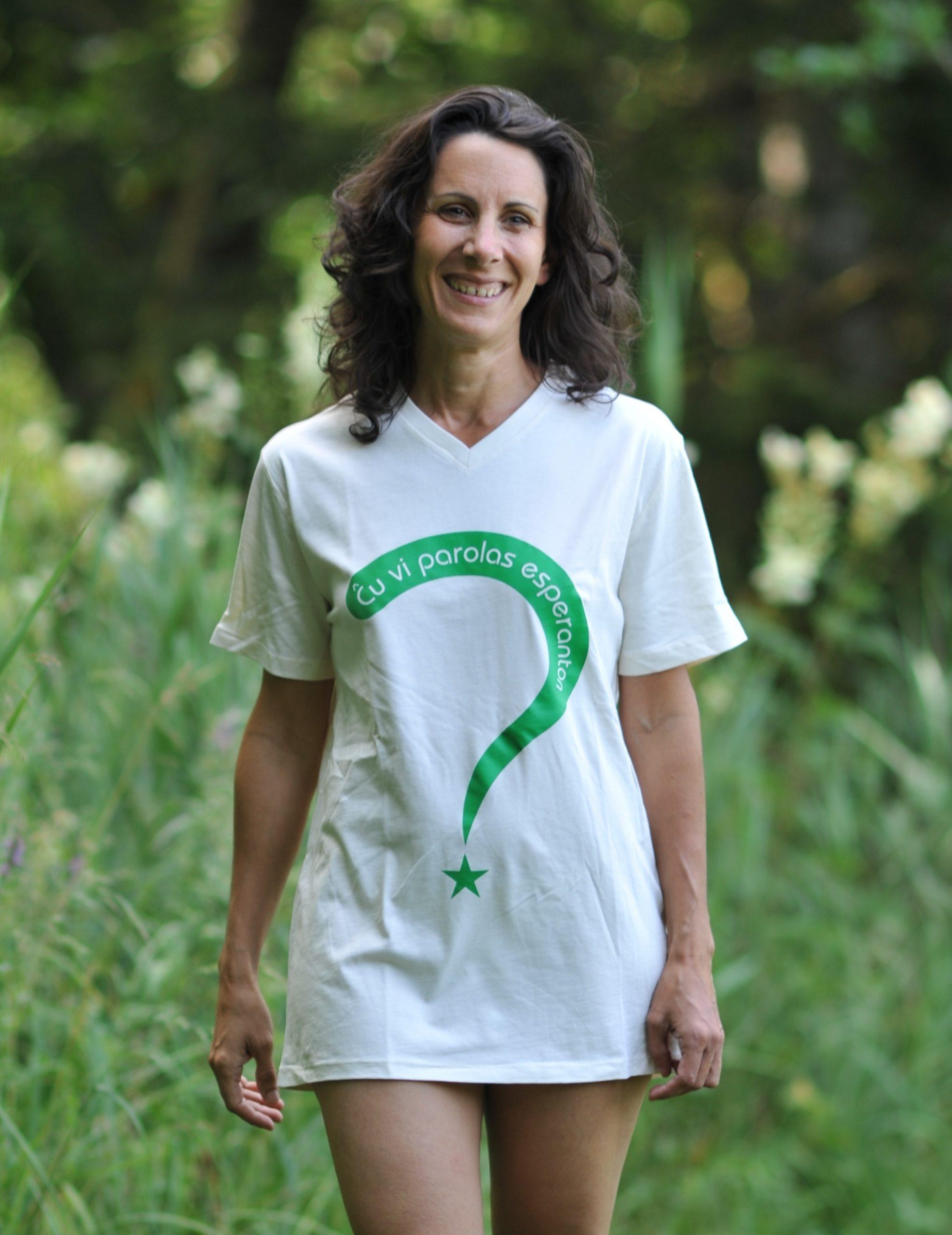 t-shirt cu vi esperanto ?