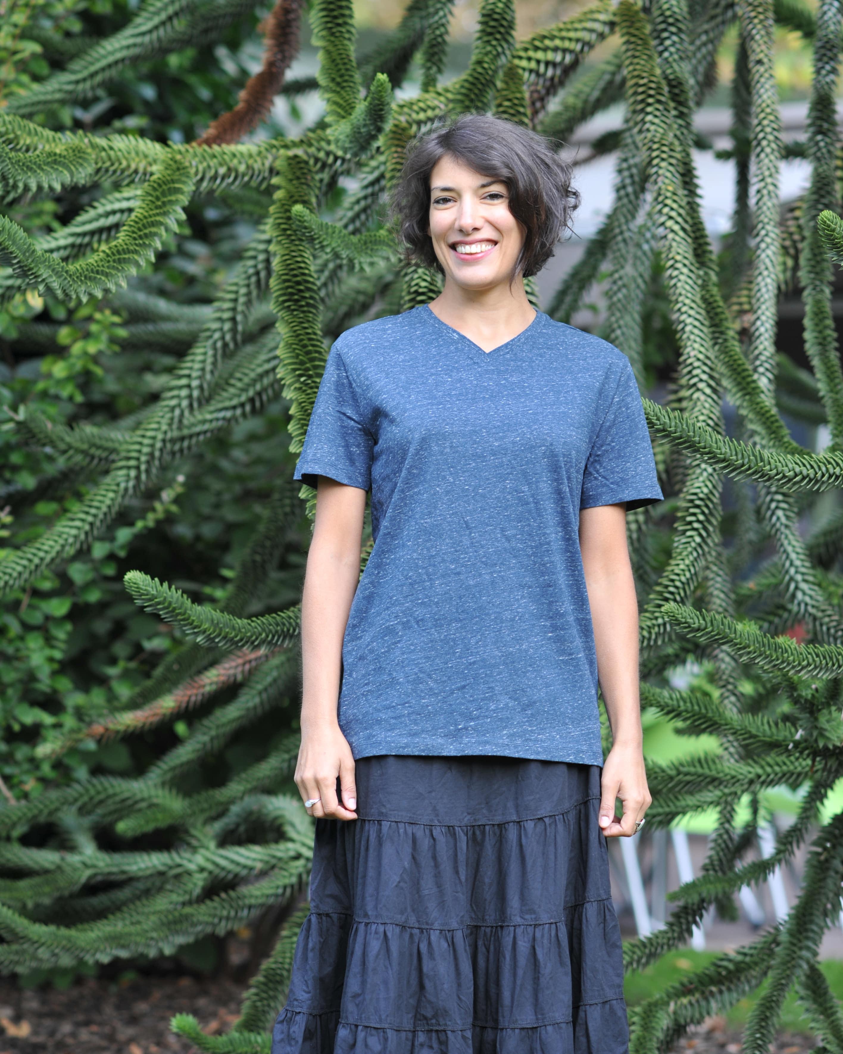 T-shirt chiné en coton